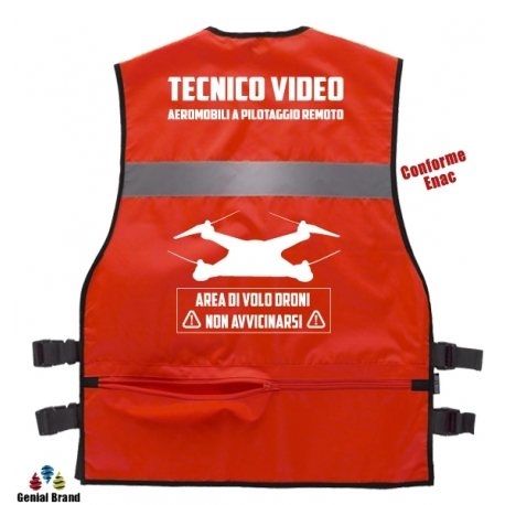 Gilet apr tecnico video