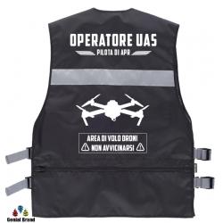 GIUBBINO OPERATORE UAS PILOTA DI APR