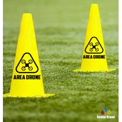 CONO AREA VOLO DRONE