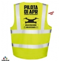 "Gilet ""PILOTA DI APR"" tasche e taschino"