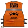 GILET  PILOTA UAS Arancio