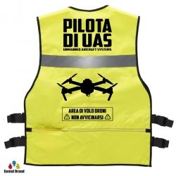 GIUBBINO PILOTA DI UAS giallo