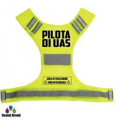 Gilet PILOTA DRONE UAS e APR