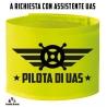 Fascia alta visibilità Pilota UAS e Assistente