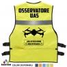 Gilet OSSERVATORE UAS Vari colori